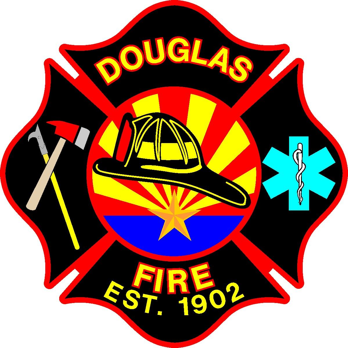 Douglas Fire Department Logo