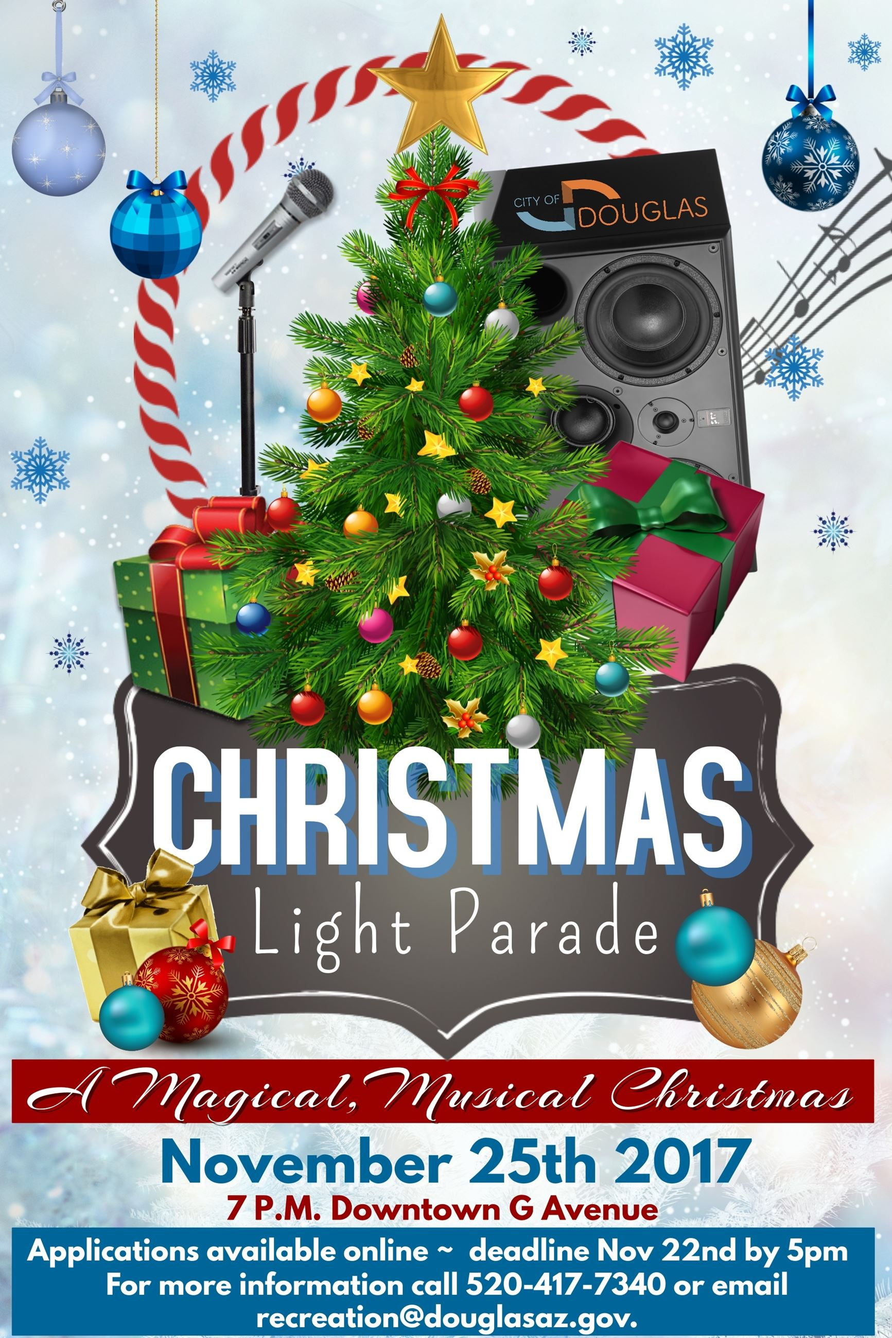 christmas light parade 2017
