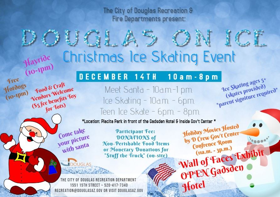 Douglas on Ice Flyer - 2019